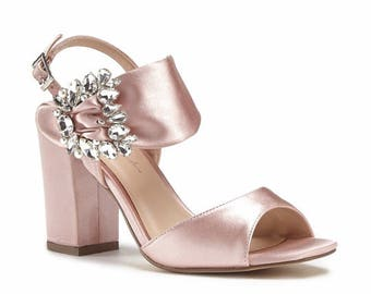 Wedding Shoes Blush Pink Bridal