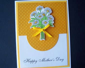 Bouquet of Daisies Mother's Day Card