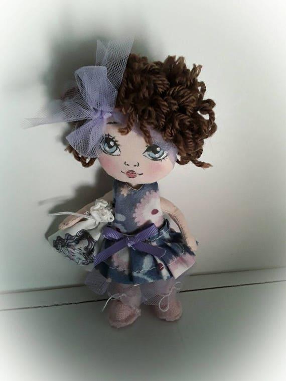 Doll lavander,bambola lavanda
