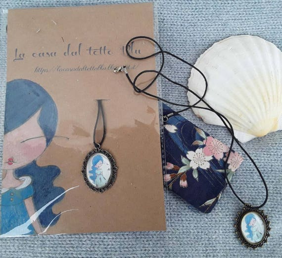 Collana con ciondolo,necklace with pendant