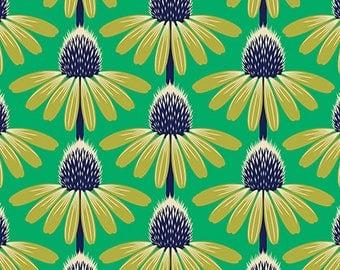 Anna Maria Horner: Floral Retrospective Yardage - Echinacea Preppy