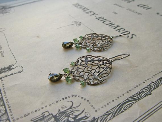 Pompadour Jeanne earrings...