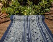 Folk Art Indigo Hand Batik Fabric