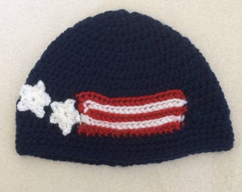 """ON SALE - 10% OFF Crochet hat  for 16""""-18"""" Waldorf doll and American girl doll"""