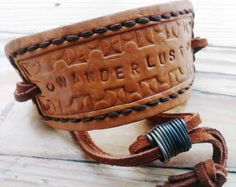 Wanderlust Adjustable Cuff