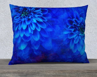 Highlight you decor with this beautiful Blue throw pillow