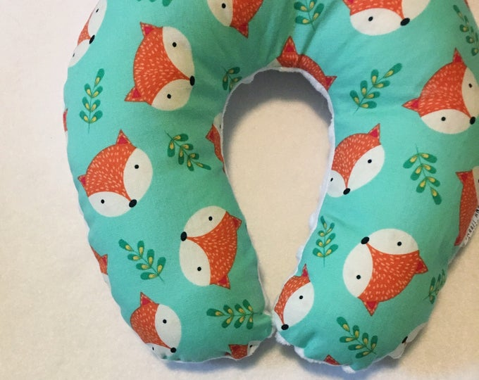 Fox Travel Neck Pillow for Children and Adults