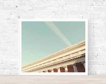 Digital download | LEGION OF HONOR | Neoclassical architecture print | San Francisco photo | printable art | minimalist art print | wall art