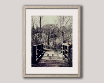 Digital download | DEEP IN the WOODS | woodland art print | rustic wall art | printable art | country decor | woodland decor | landscape art