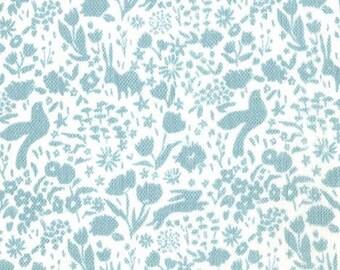 Shadow Garden on Gauze (Mist) - Double Gauze - Sarah Jane - Sommer - Michael Miller Fabrics - 1 Yard