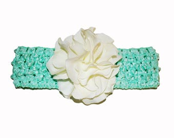 Petal Cluster Waffle Headband (More Colors Available in Separate Listing)