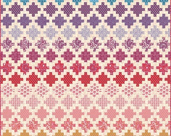 FREE SHIPPING!!  SPELLBOUND Quilt Kit by Urban Chiks for Moda Quilt Fabrics