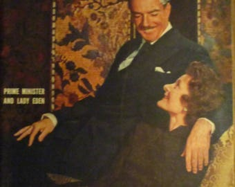 April 25, 1955 LIFE MAGAZINE Prime Minister And Lady Eden