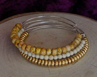 Expandable Bangles Bracelet