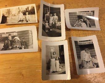 Cousins - Black & White Photos - 1930's, 1940's