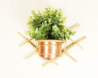 Pflanze wandhalter etsy for Wandhalterung pflanzen