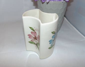 "Vintage  FTDA FTD 1981 ceramic Flower vase Made in PORTUGAL 5"" tall 80s"