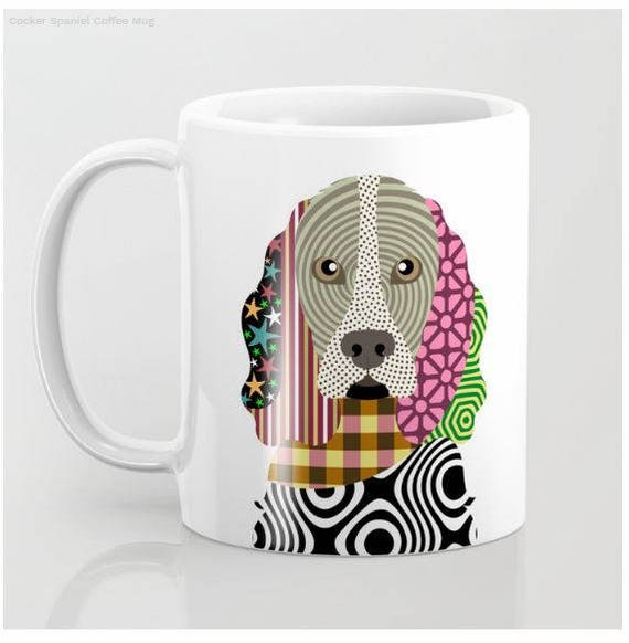 Cocker Spaniel Mug, Cocker Spaniel Gifts, Cocker Spaniel Print, Cockers Lovers Gift, Pet Gifts, Pet Mug, Dog Lover Mug