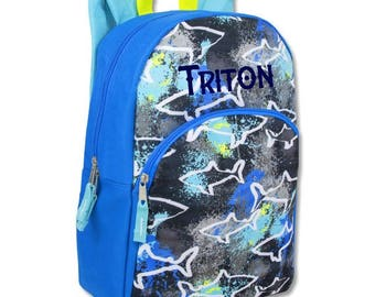 NEW NEW NEW Boys/Toddlers/Pre-K/Backpack/ Back to school/dinosaur/cars/sports/sharks backpack/birthday gift/ Coupon Code bts2017 can be used