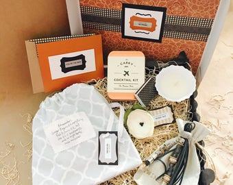 Thankful {Bride} Box {T&T Gray Keychain}