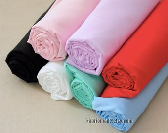 One yard 24 colors Choose Chiffon Lining Fabric, Lining for Lace Fabric  -  Fabric by the yard