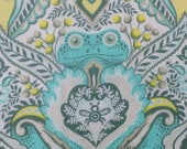 """Tula Pink, FROG PRINCE Prince Charming, Mint - 20"""" x 25"""""""