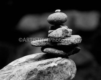 Rock Stack Balancing Fine Art Print