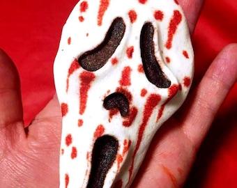 Scream Horror Movie Blood Filled Bath Bomb Amaretto Scented