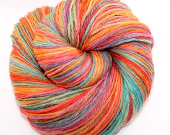 Handspun Yarn - Fruit Stripes - DK Weight - 465 yards