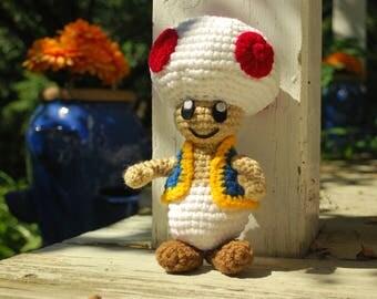 Crochet Toad