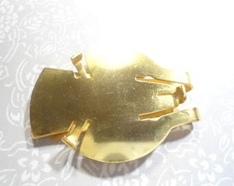 1 Vintage Brass Eisenhower Morgan Liberty Dollar Money Clip