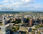 Overview 11x14 photo of Milwaukee, WI