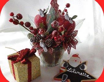 Decoration Christmas table art