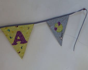 Additional custom pennant has add to the Garland