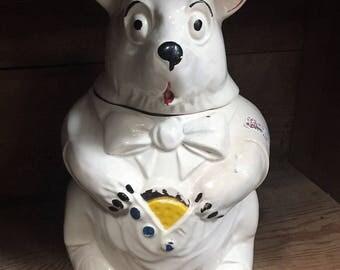 Vintage McCoy Cookie Jar Dog