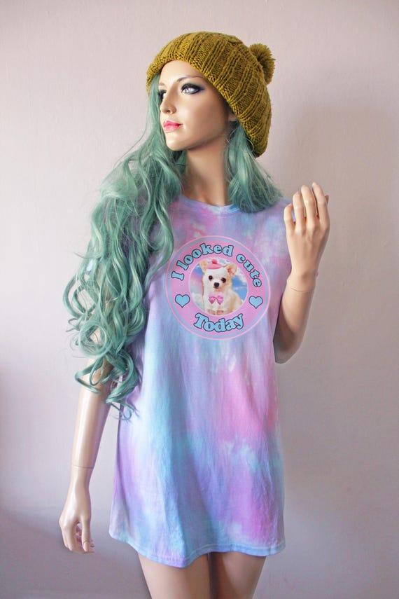 I Look Cute Chihuahua Tie Dye T-Shirt hipster tumblr cute gift