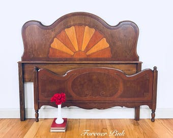 Beautiful Vintage Full/Queen Size Bed