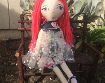 Fabric doll.