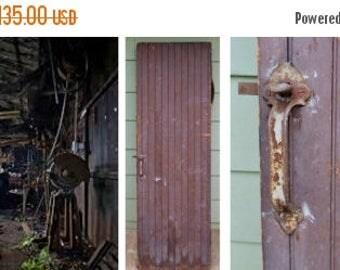 ON SALE Antique, Industrial, Machine Shop, Wooden, Door, Hardware, Rustic, Table, Very Heavy ,  Pine, Distressed, Vintage