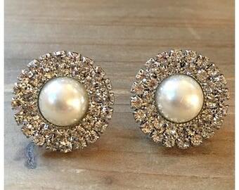 Pearl Sparkle Collar Pins