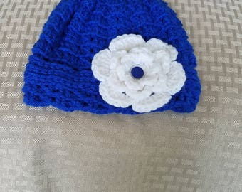 Crochet little girl's hat