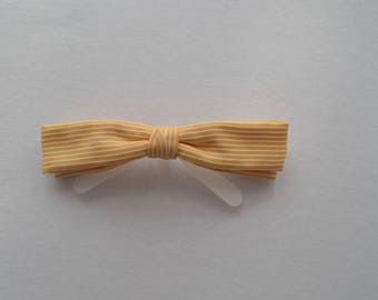 Retro Hipster Dandy Clip on Bow Tie