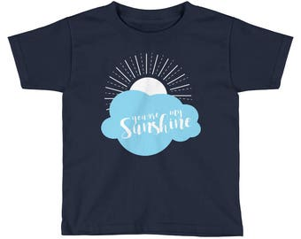 You are My Sunshine Cute Kids Graphic Tee, Short Sleeve T-Shirt