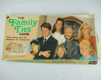 Vintage 1980's Family Ties TV Sitcom Family Board Game