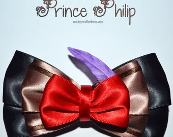Prince Philip Hair Bow