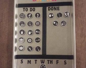 Magnetic Chore Chart 2+