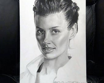 Original Drawing of Bridget Moynahan (NOT a print)