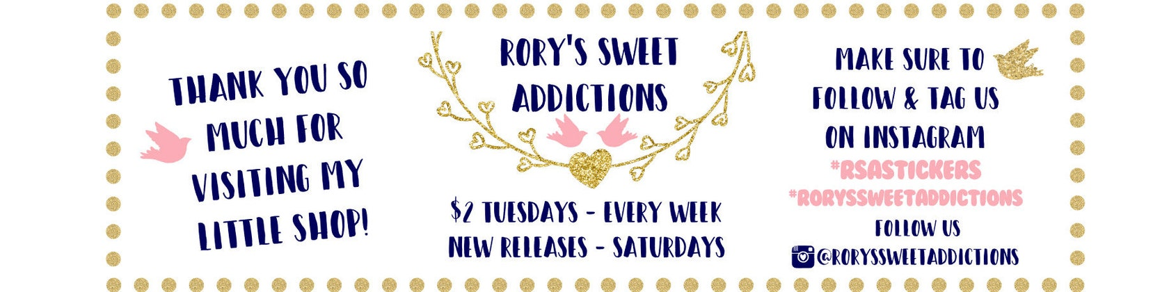 rorys sweet addictions by roryssweetaddictions on etsy