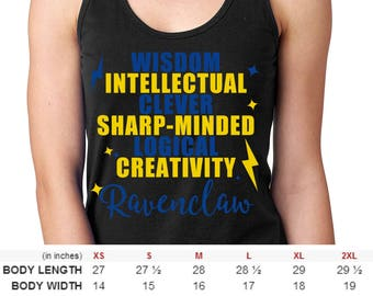 Men and Women Harry Potter Ravenclaw House Shirt
