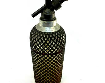 Seltzer Bottle  Vintage, Bottles, Bar Decor